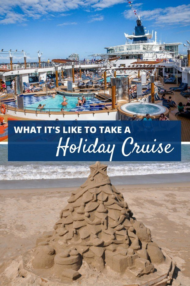 Sun, sand, and avoiding holiday stress are just a few of the reasons to take a holiday or Christmas cruise   What It's Really Like to Take a Holiday Cruise