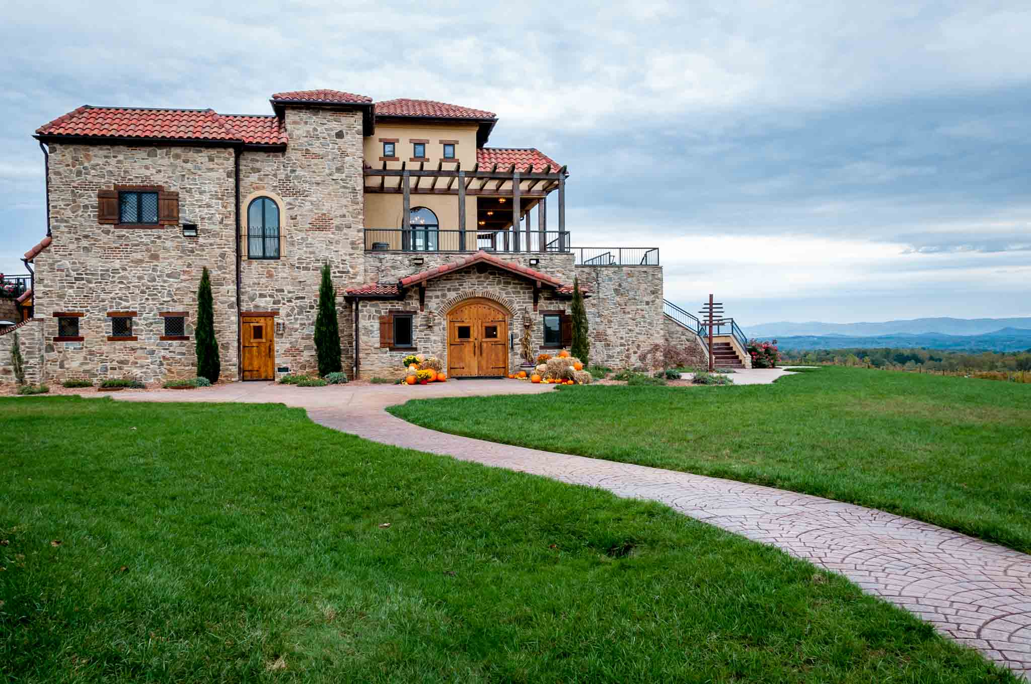 Raffaldini Vineyards is one of the largest Yadkin Valley wineries