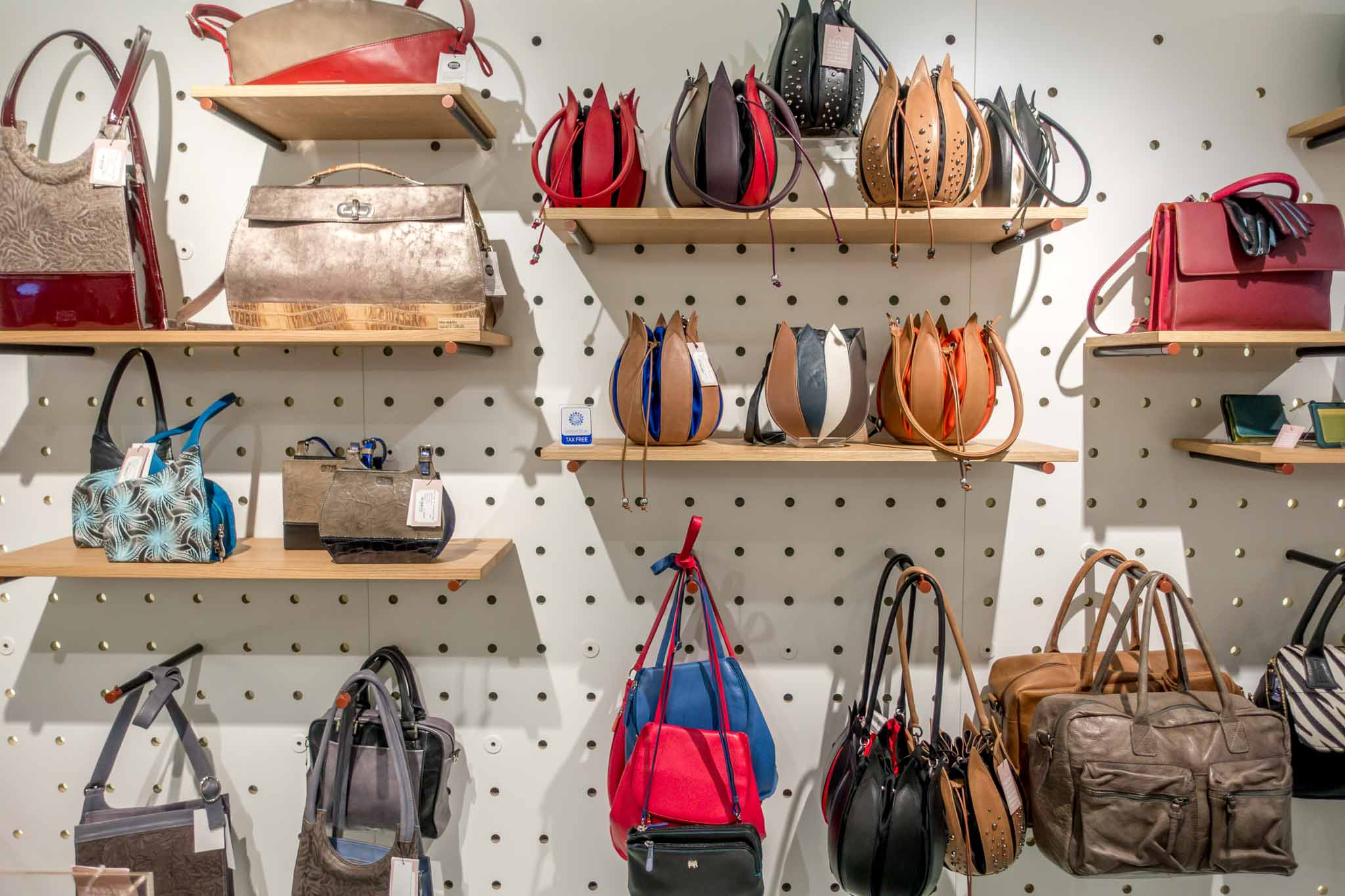 Unusual bags for sale at The Museum of Bags and Purses in Amsterdam