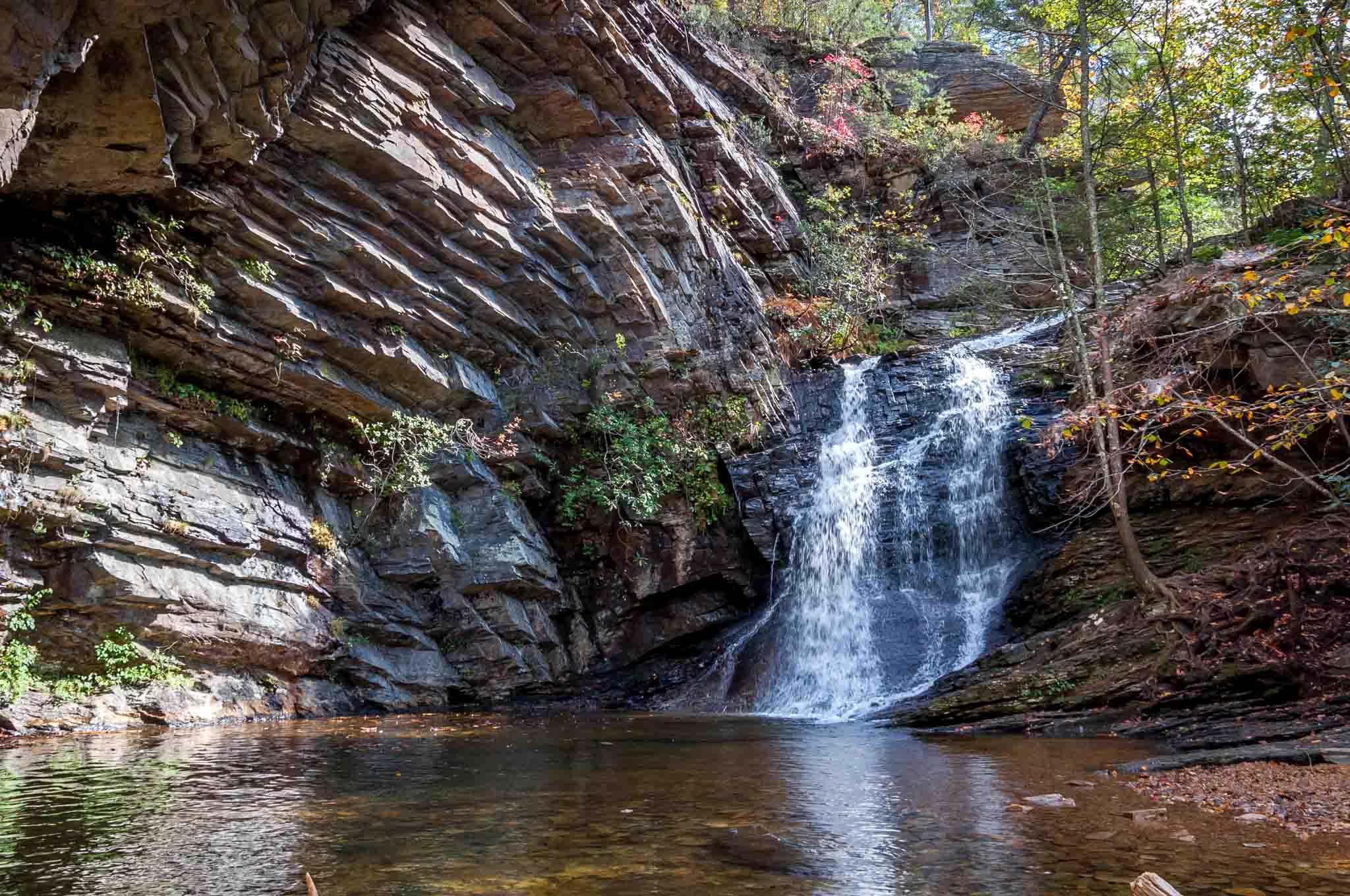 North Cascades Falls in North Carolina
