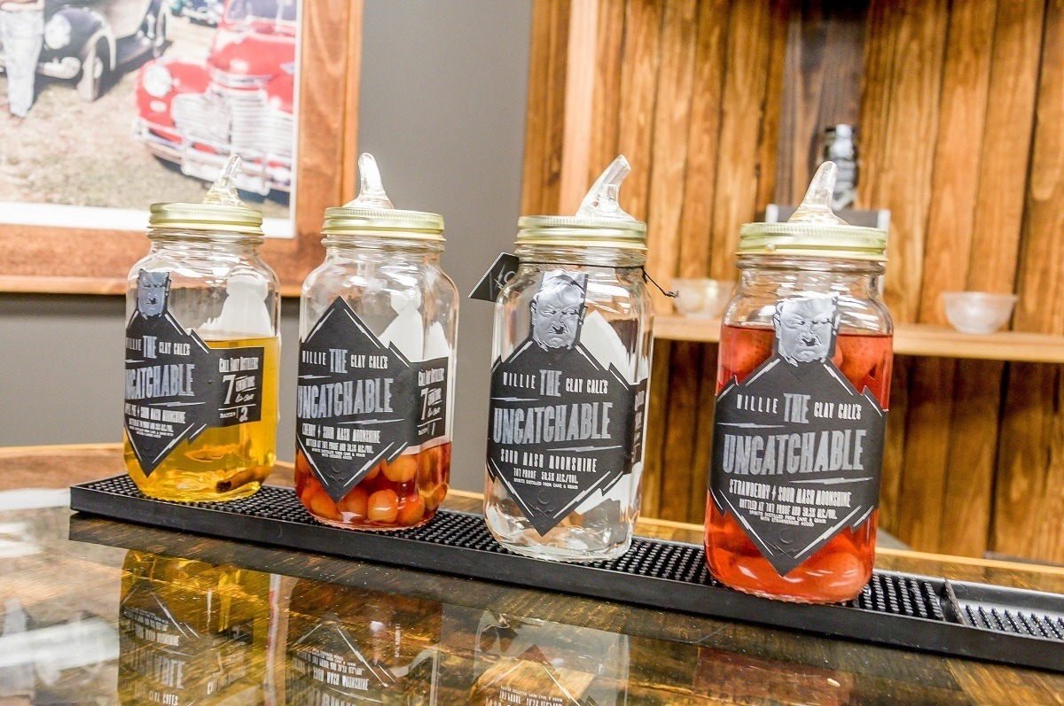 Moonshine at Call Family Distillers