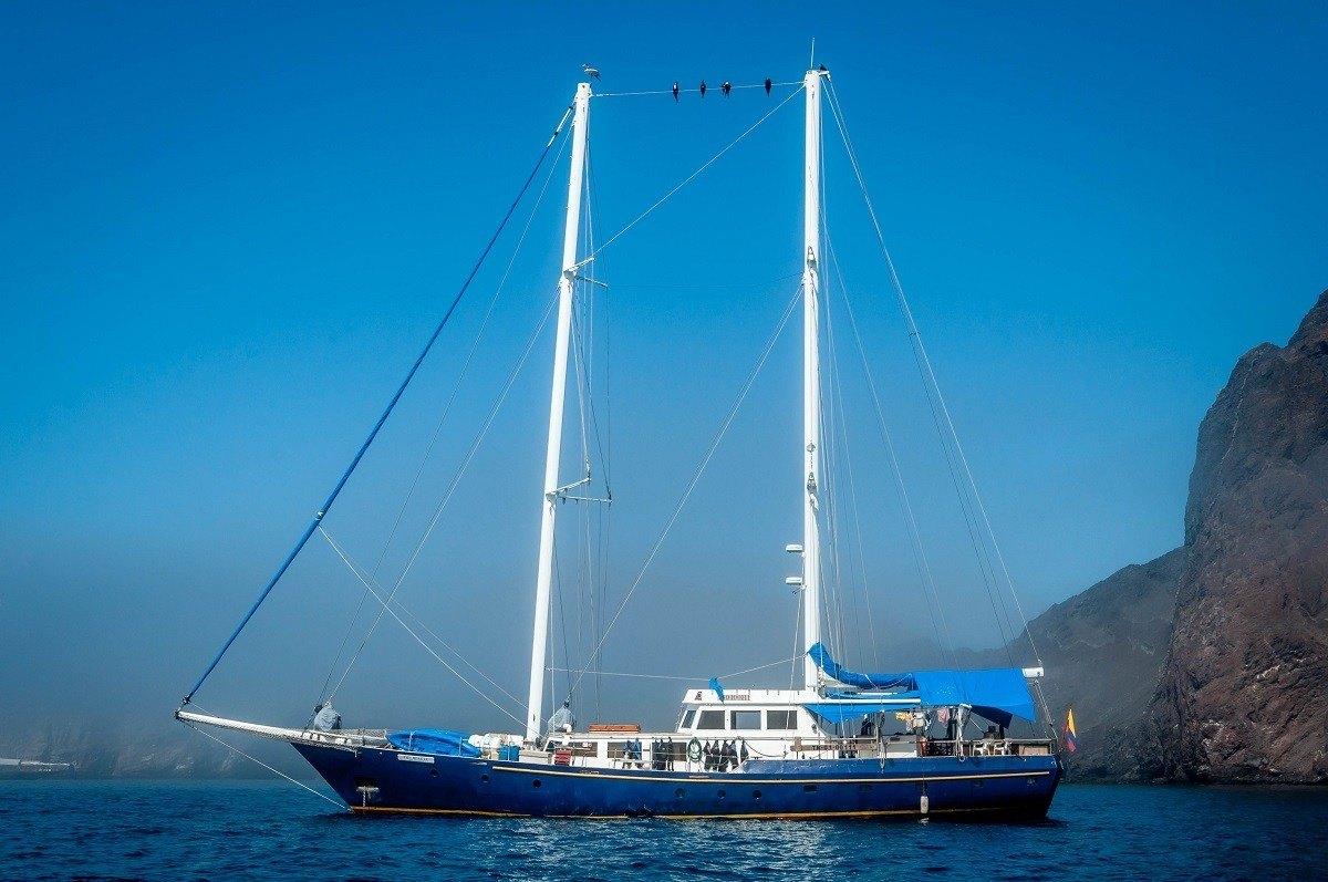 The Beagle, a Galapagos cruise boat