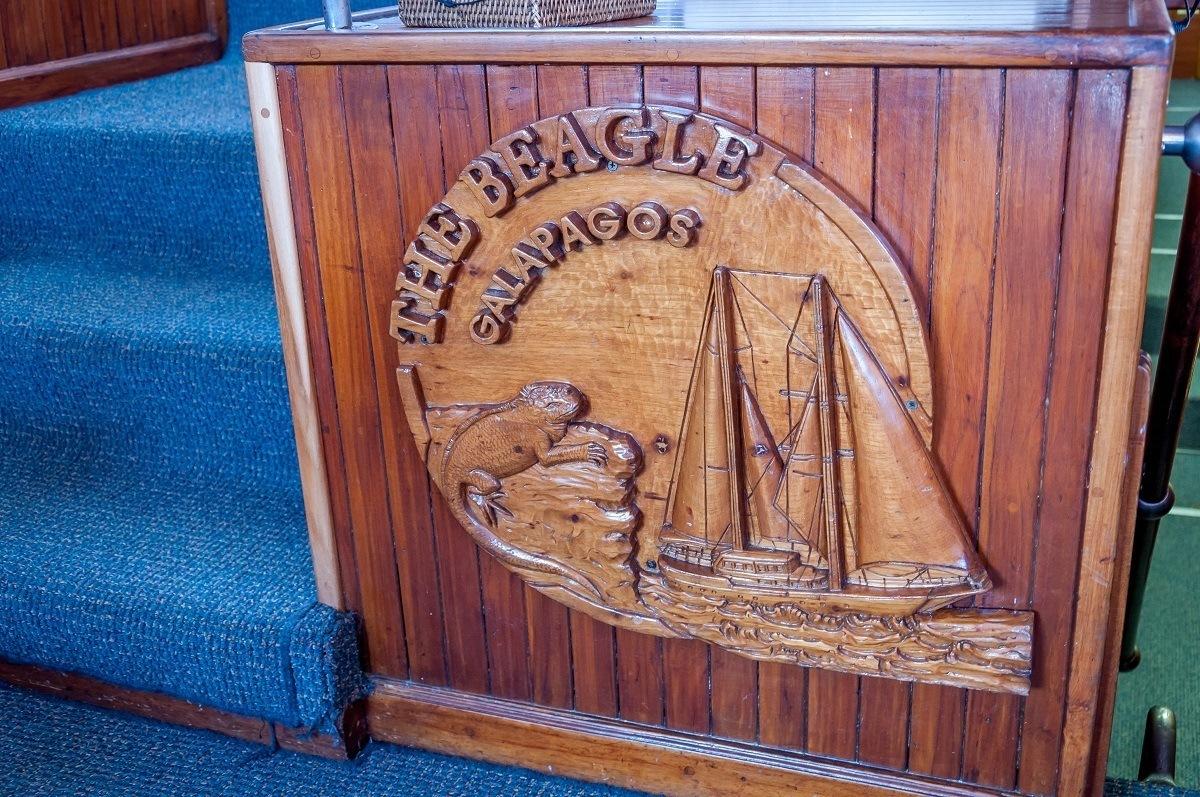 The Beagle Galapagos, a first class sailboat