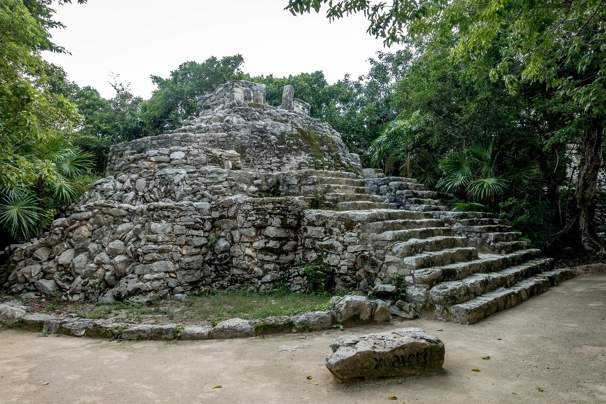 Ancient ruins in Mexico