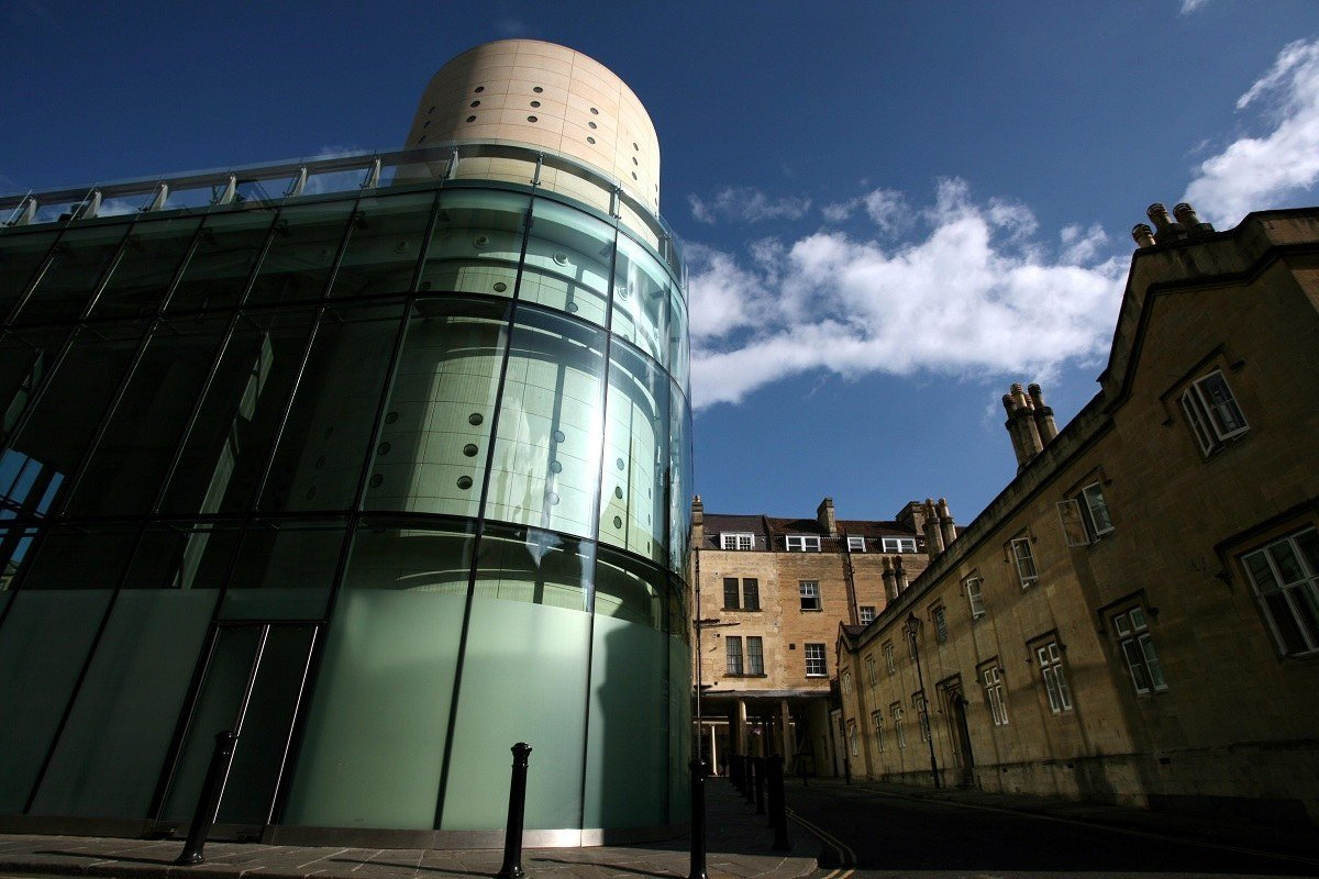 Exterior of the Bath Thermae Spa