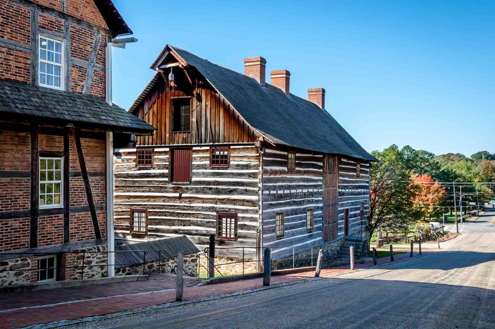 Historic building at Old Salem North Carolina