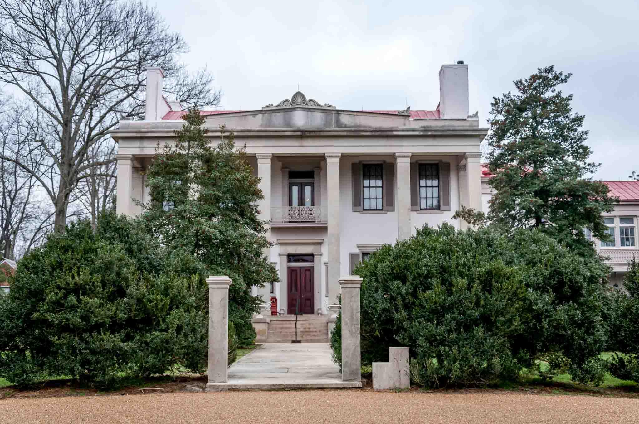 Mansion at Belle Meade plantation in Nashville TN
