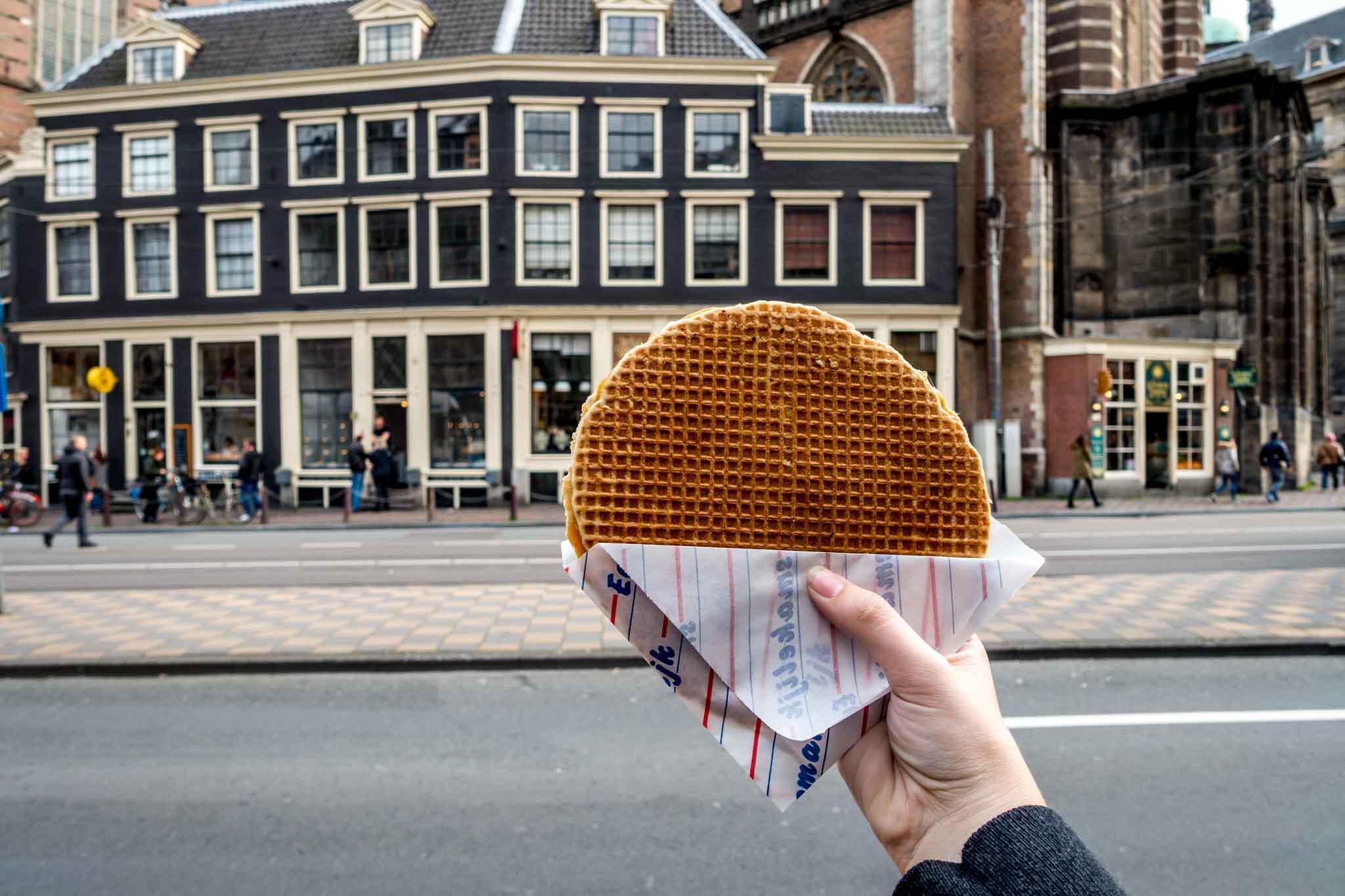 Stroopwafel in Amsterdam