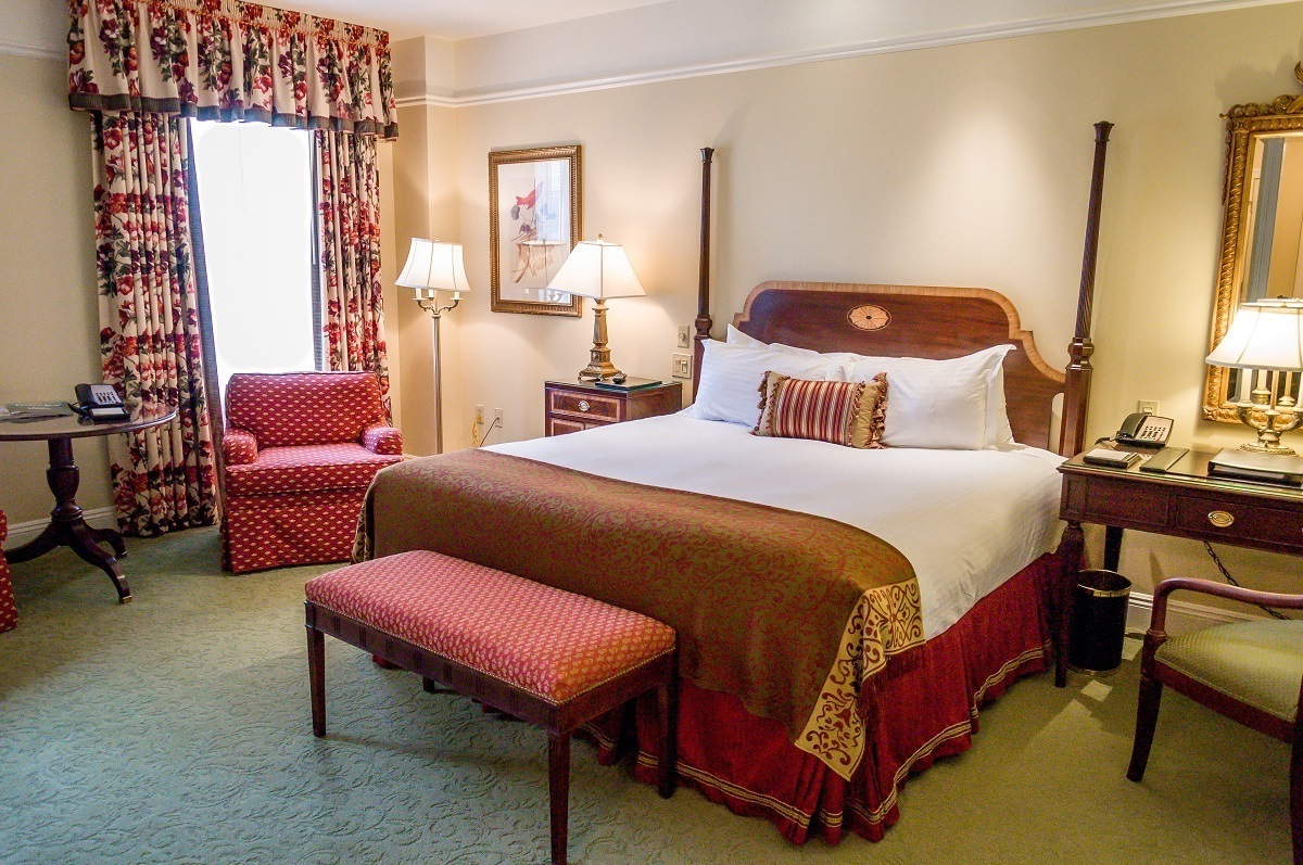 The Deluxe King Room at the hotel