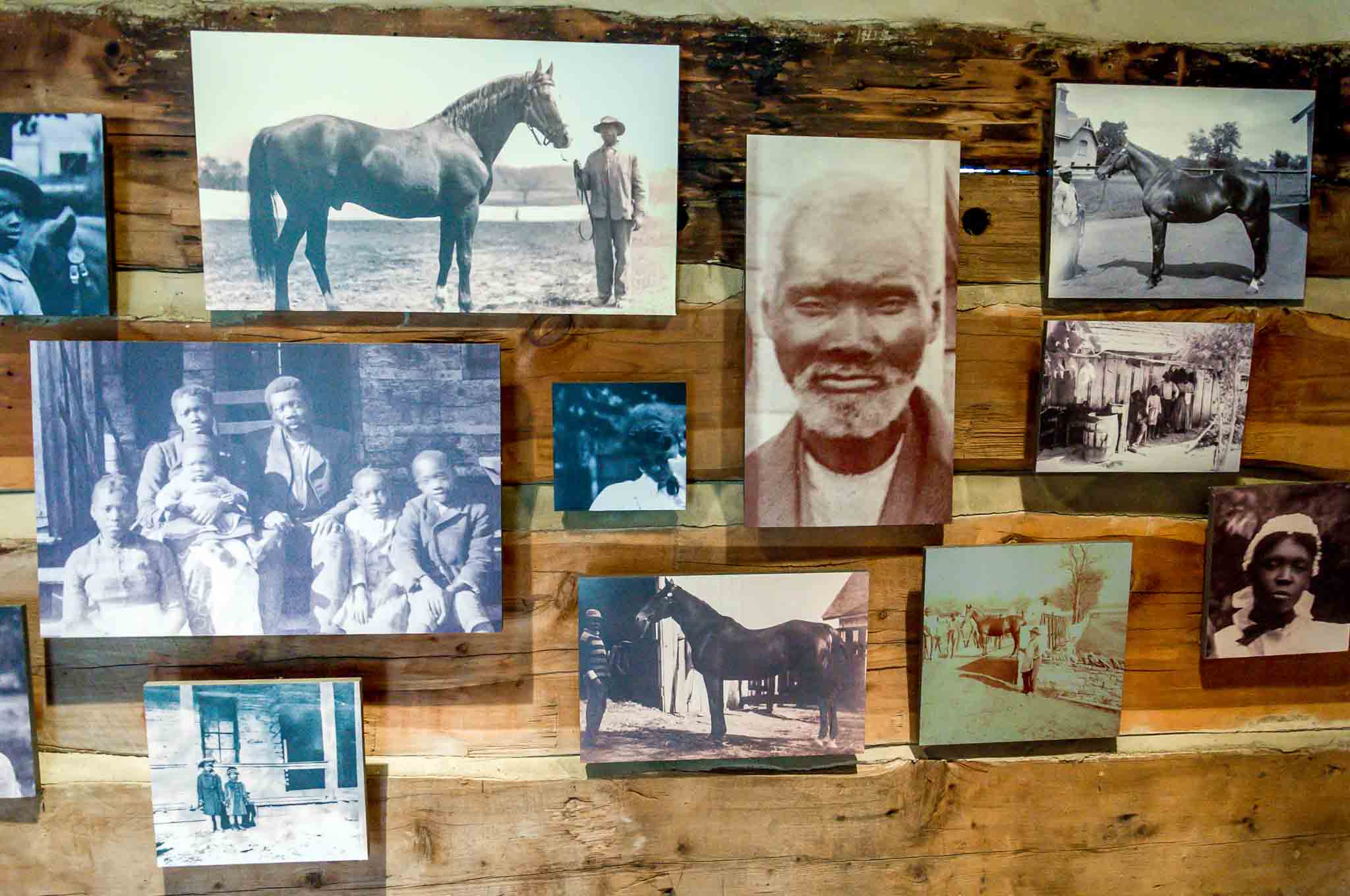 Photos of enslaved people who lived and worked on the plantation