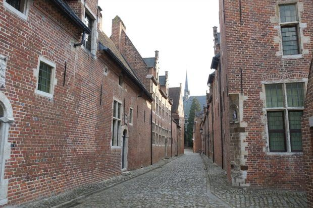 The Big Beguinage district in Louven.