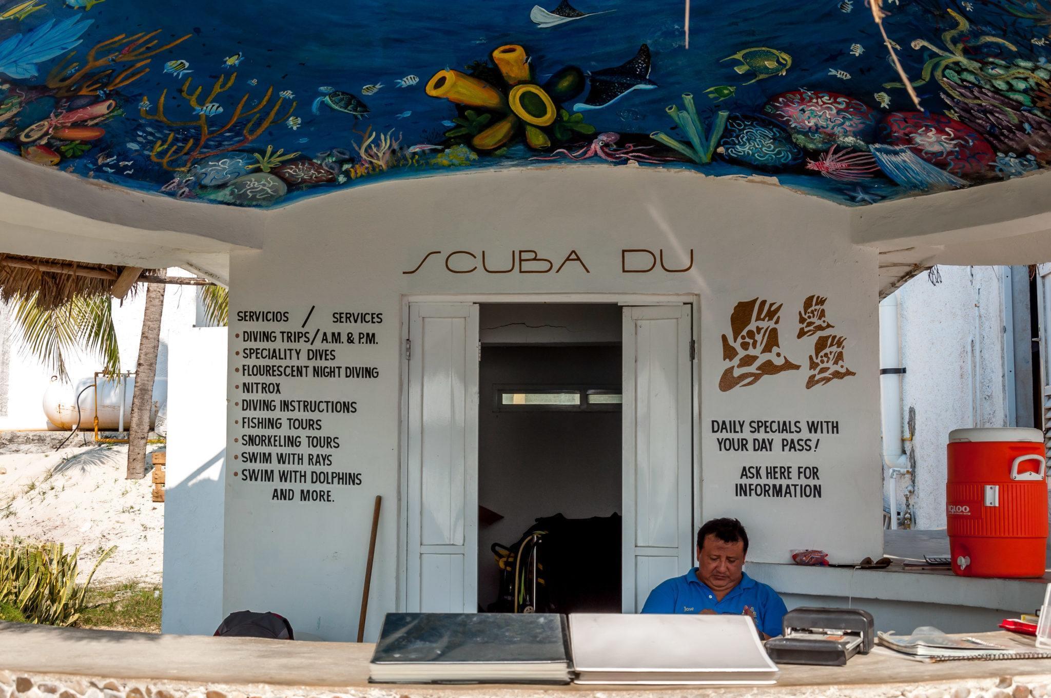 The Scuba Du dive shop