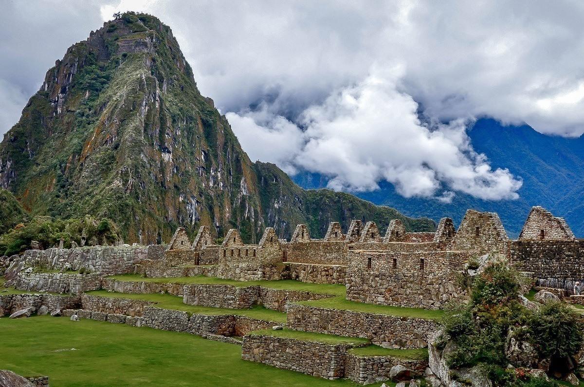 Machu Picchu in the clouds