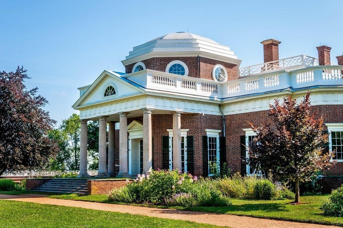 Virginia's Monticello, a UNESCO World Heritage Sites USA listing