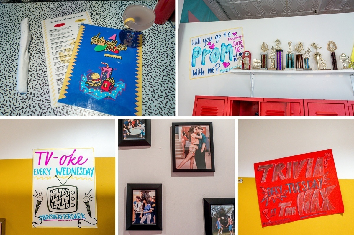 Saved by the Bell details and decorations