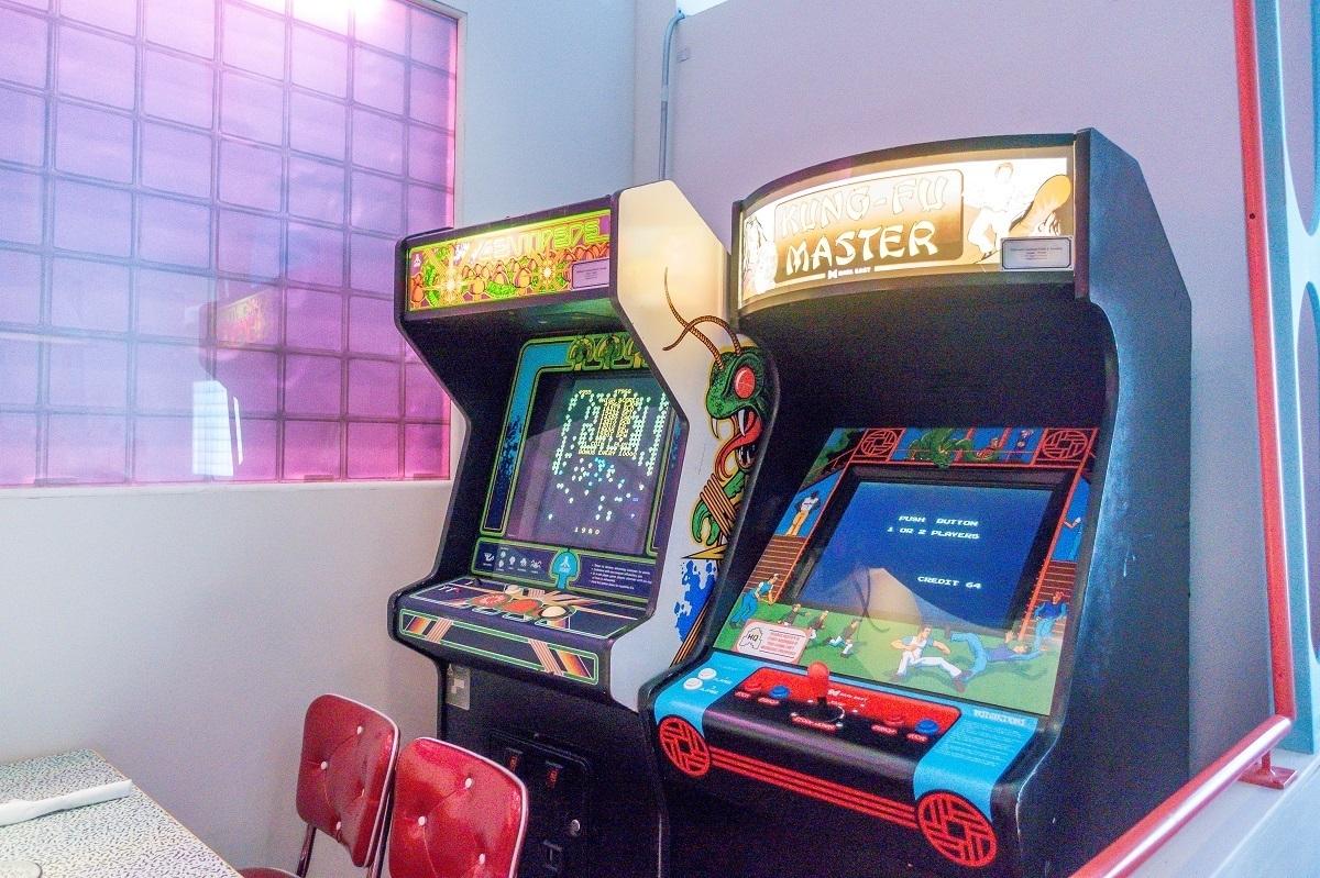 Classic arcade video games