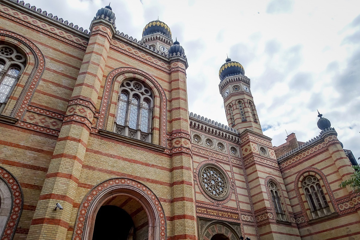 The Dohany Street Synagogue is the central attraction on any tour of Budapest's Jewish Quarter.
