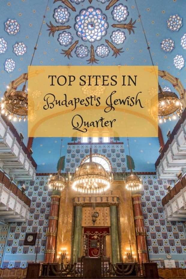 Top Sites to Visit in Budapest's Historic Jewish Quarter