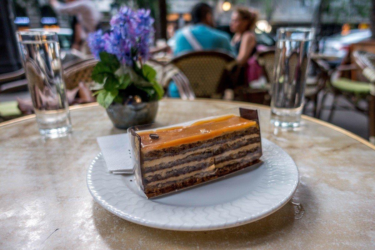 Multi-layer Opera cake