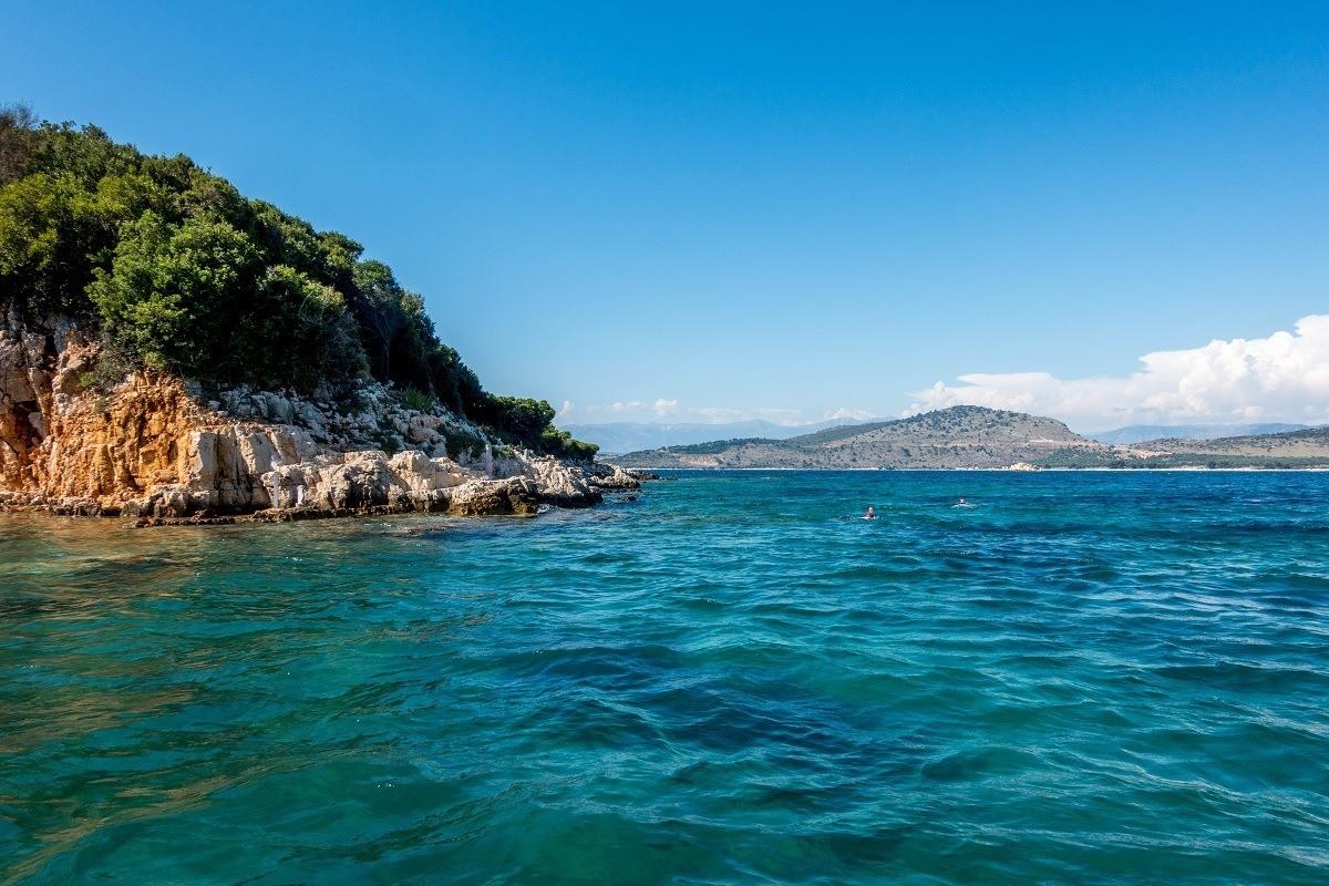 Islands on the Albanian Riviera