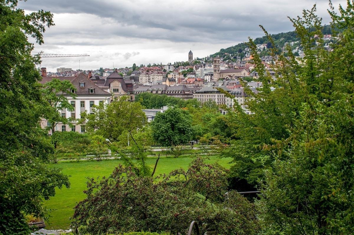 A park in Zurich