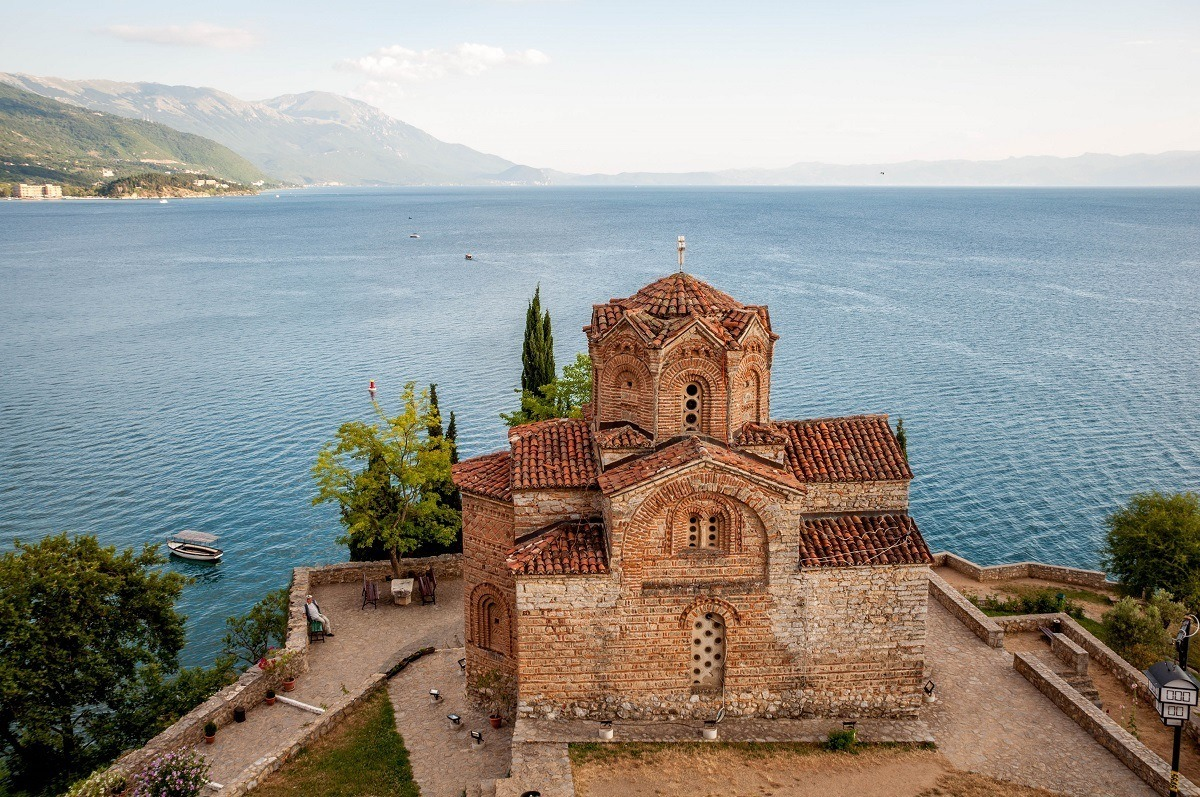 Church of Saint John at Kaneo in Lake Ohrid