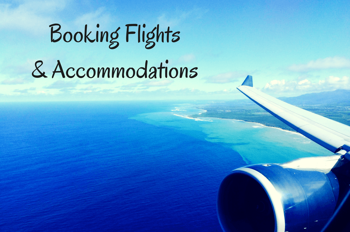 Travel resources for booking flights and accommodations