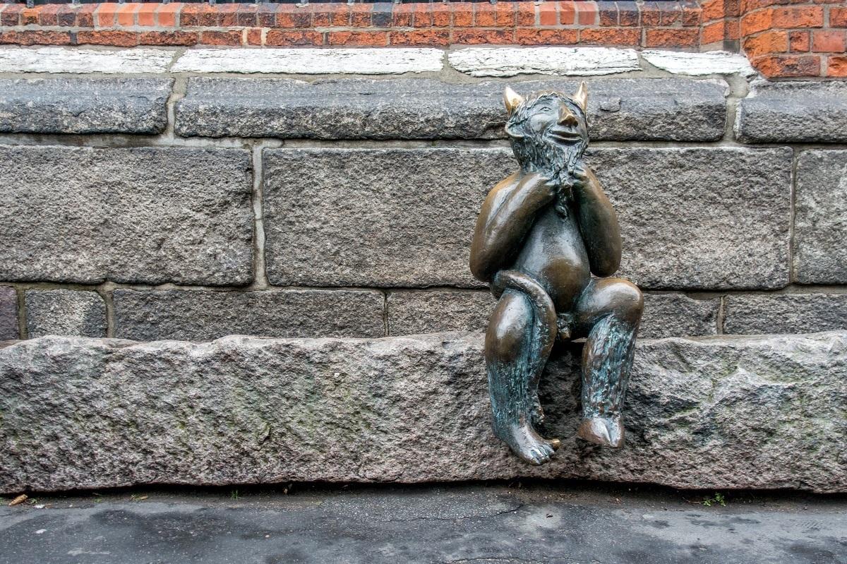 Statue of the devil