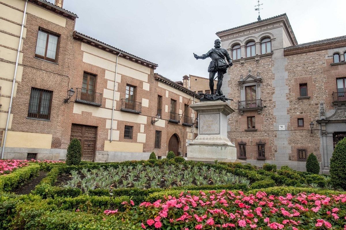 Plaza de la Villa in Madrid, Spain