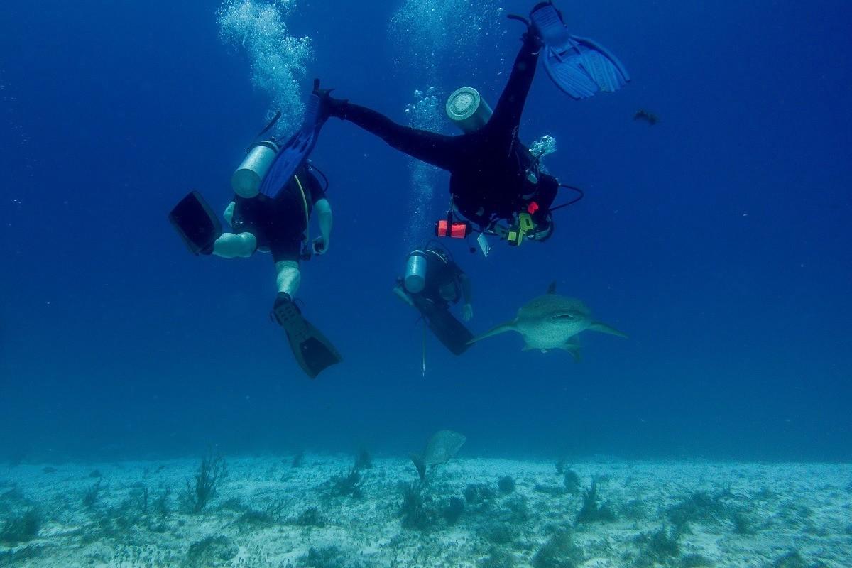 Scuba diving in Cozumel, Mexico