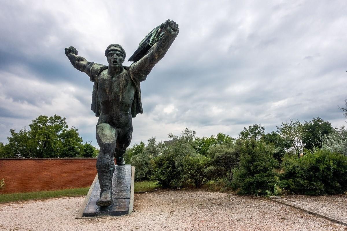 Memento Park in Budapest, Hungary