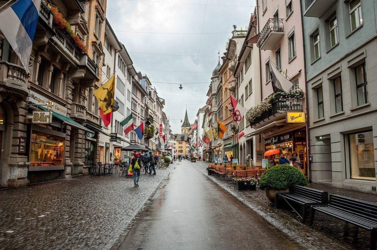 Downtown Zurich, Switzerland