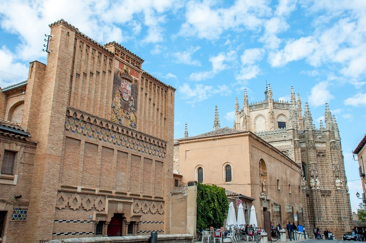 Churches and cathedral in Toledo