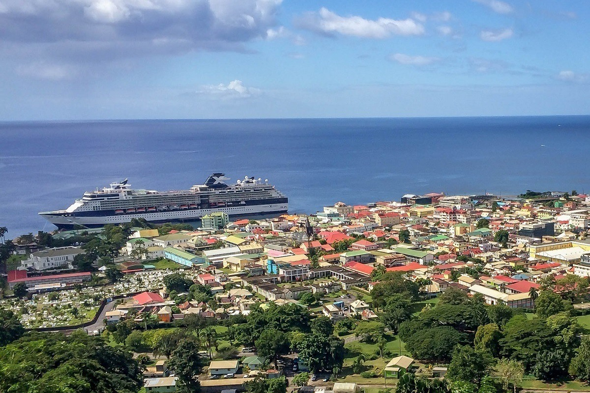 Using our cruise tips and tricks on the Celebrity Summit in Roseau, Dominica