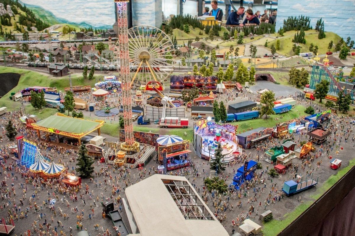 A circus carnival