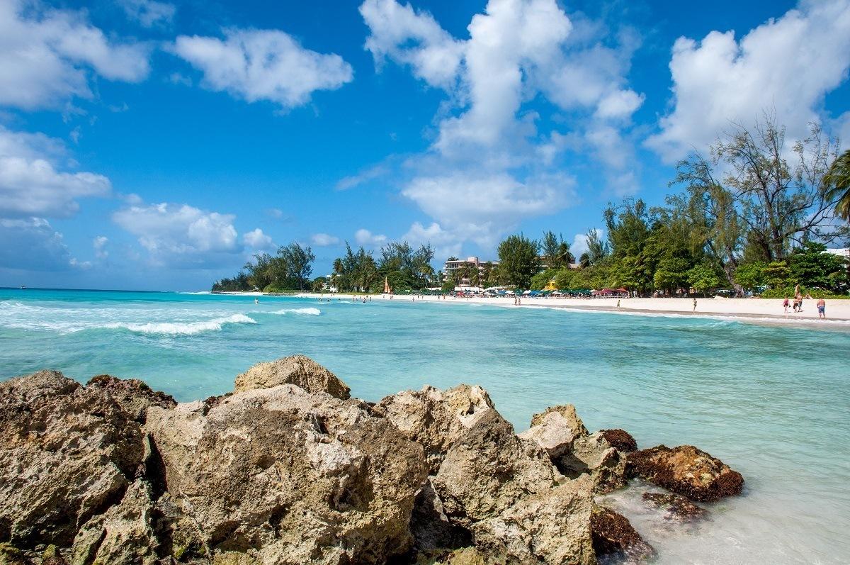 Rockley Beach in Barbados