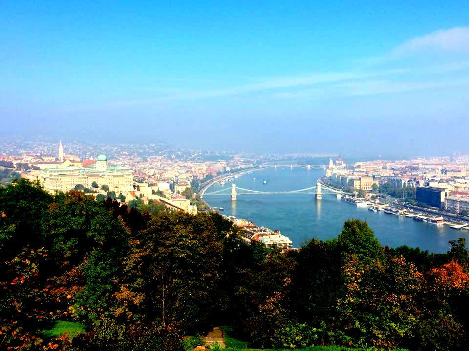 One of the best things to do in Budapest is visit the citadel for incredible views.