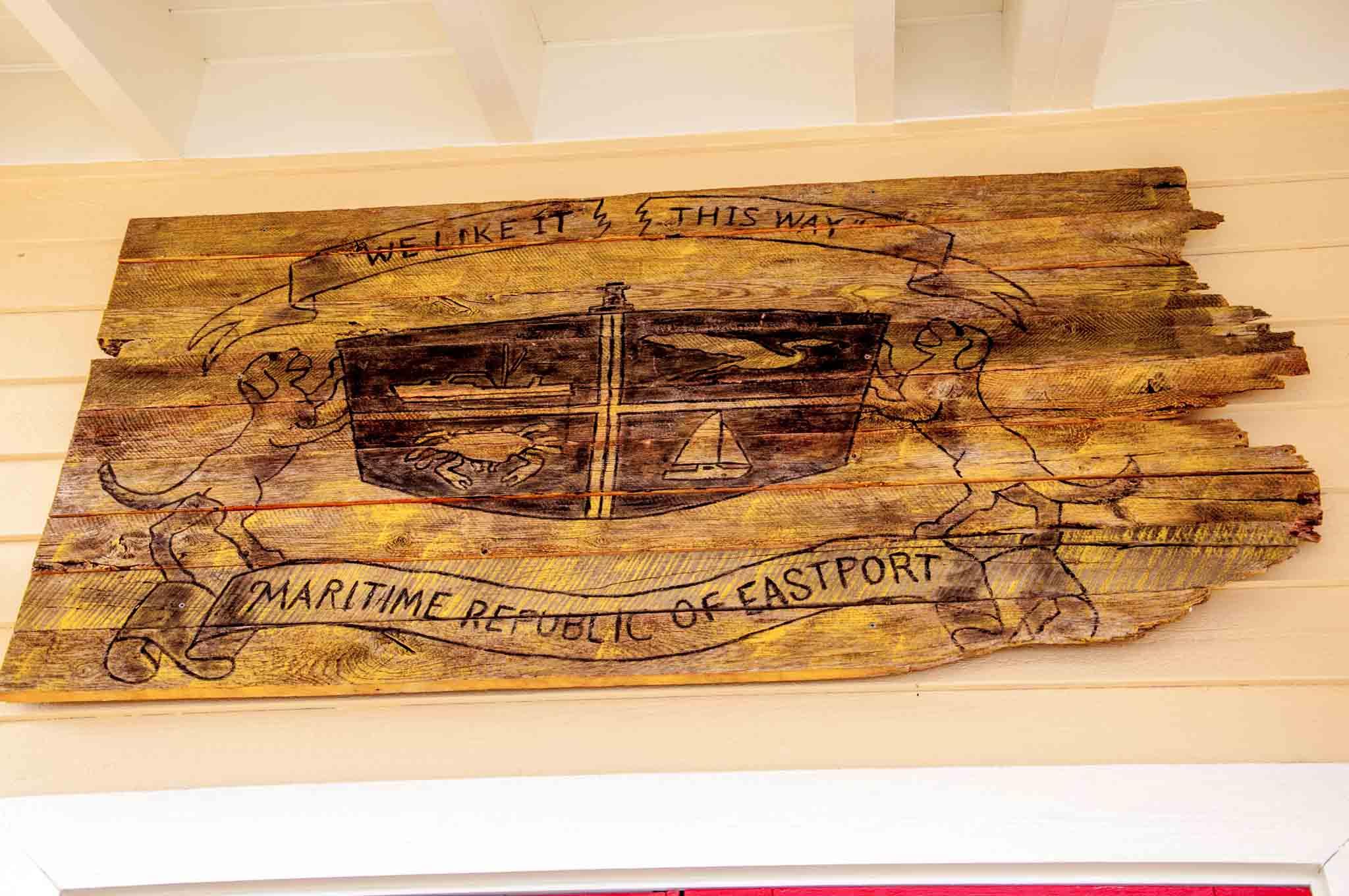 The Eastport flag: We like it this way, Maritime Republic of Eastport