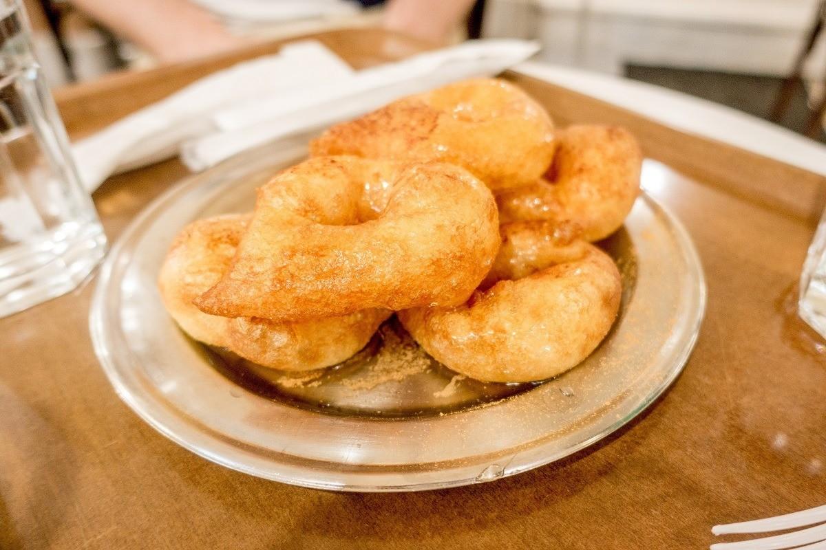 Loukoumades, Greek donuts