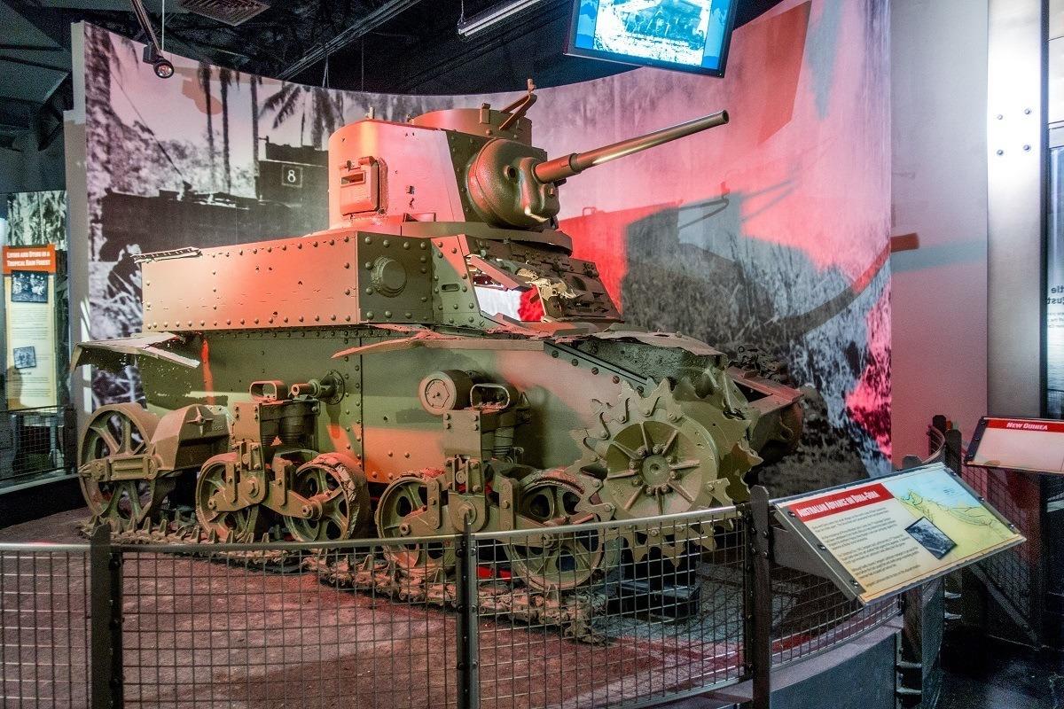 Australian tank