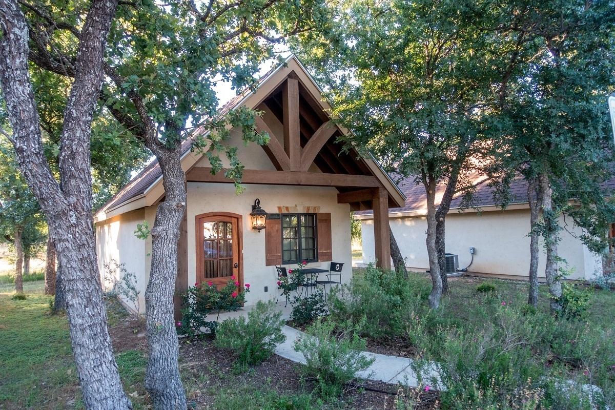 Cabin at the Manor Haus B&B in Fredericksburg, Texas