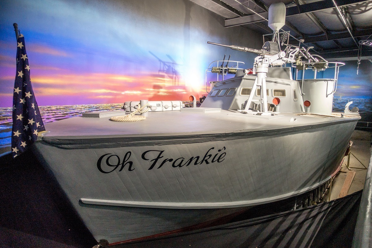 PT-309 on display, Oh Frankie