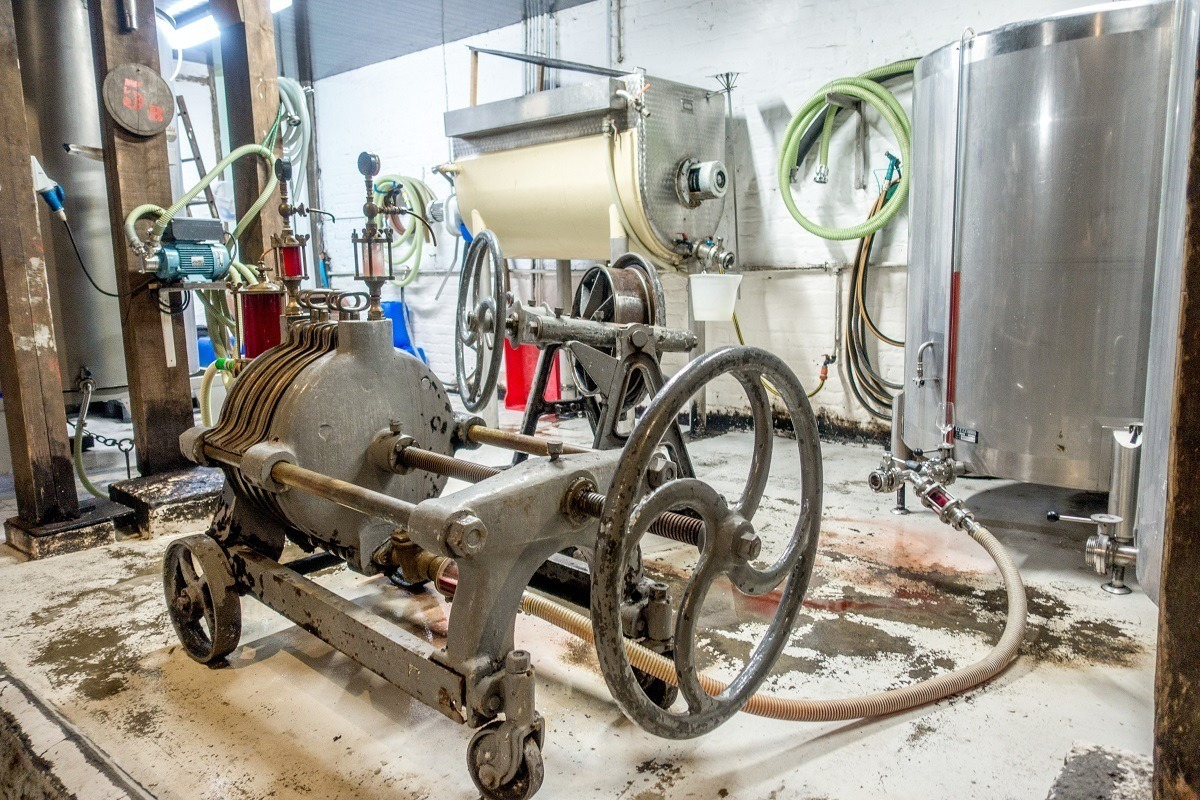 Brewing and bottling equipment