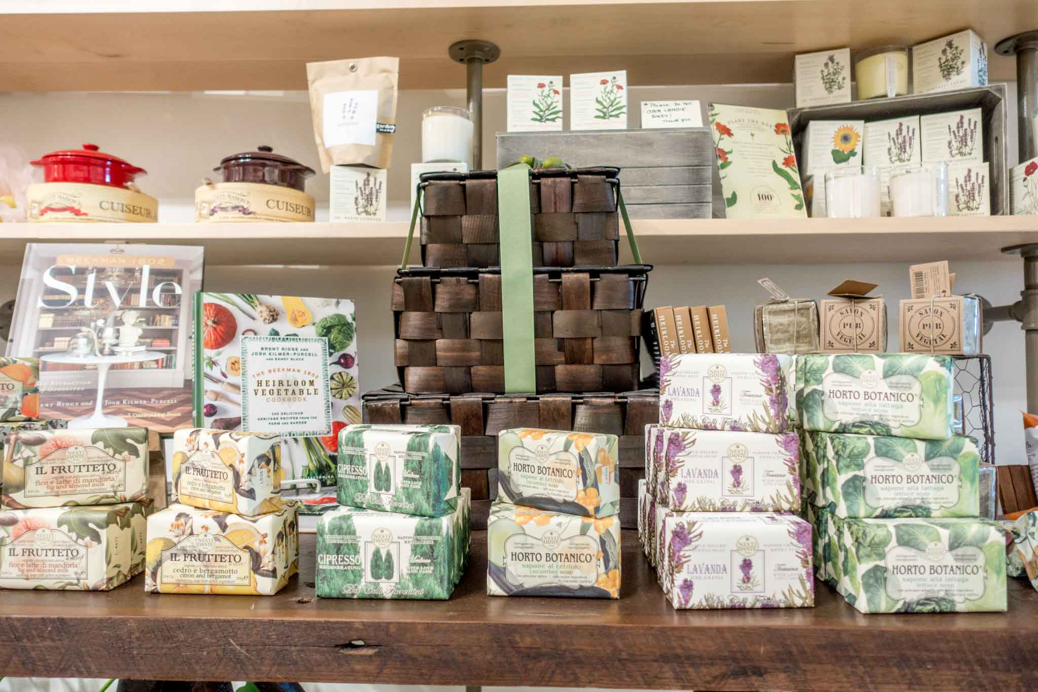 Soap and home items for sale