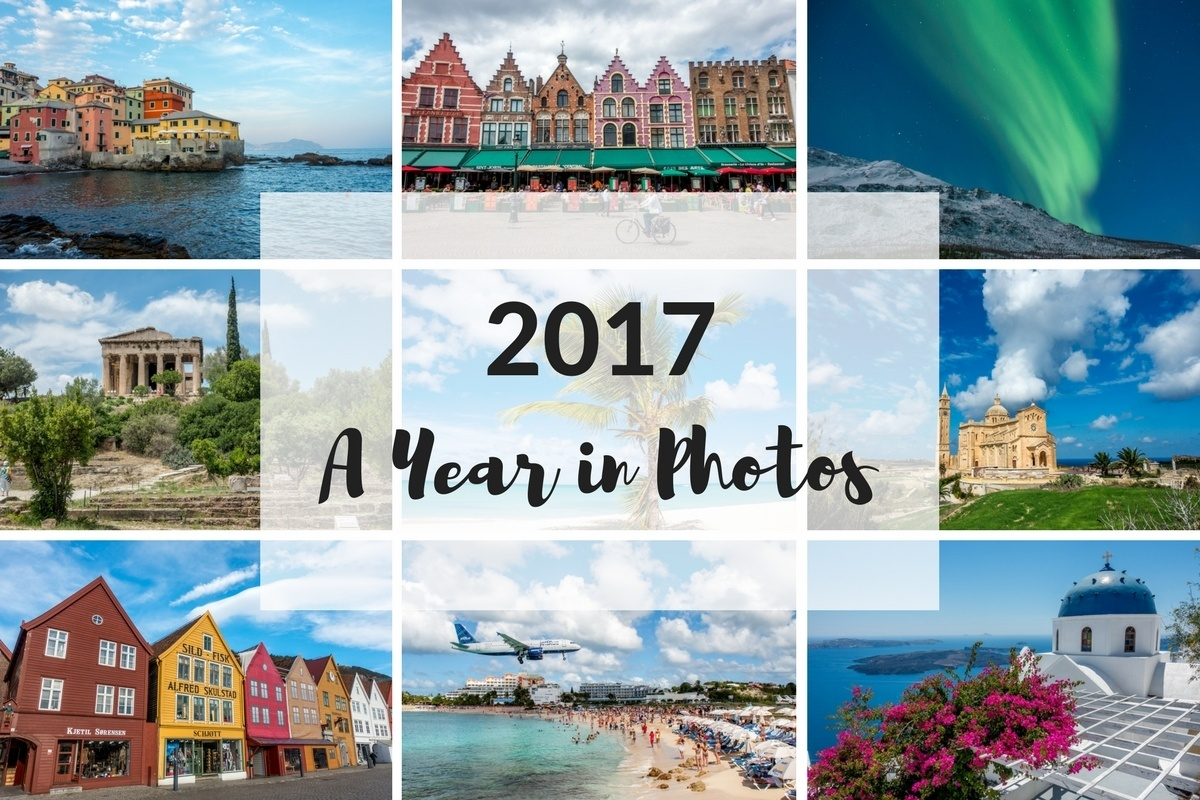 2017 in photos collage