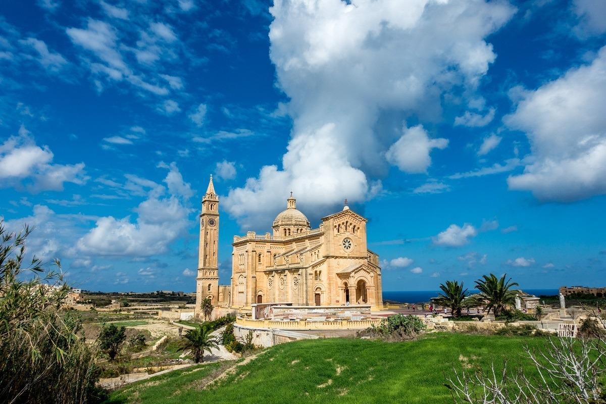 Cathedral of Ta Pinu' in Gozo