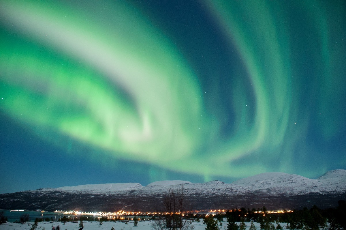 The Northern Lights in Tromso, Norway