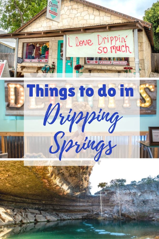 Things to Do in Dripping Springs, Texas: Eating, Drinking, and Getting Outdoors