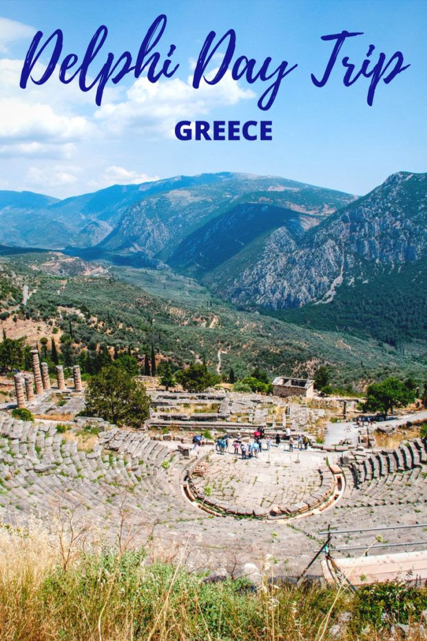 A Delphi Day Trip from Athens is Like Traveling Back in Time