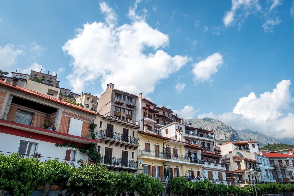 Hotels and apartment rentals on the mountain